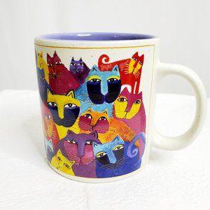 Laurel Burch Wine Things Cat Mug